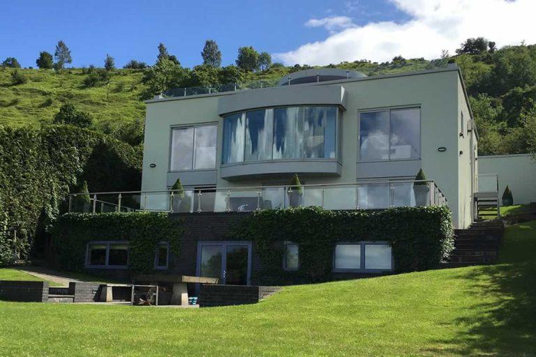 New hillside eco-build